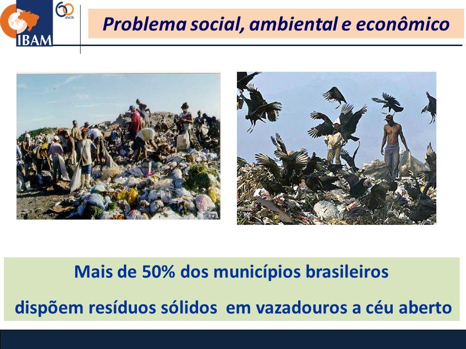 Problema social, ambiental e econômico