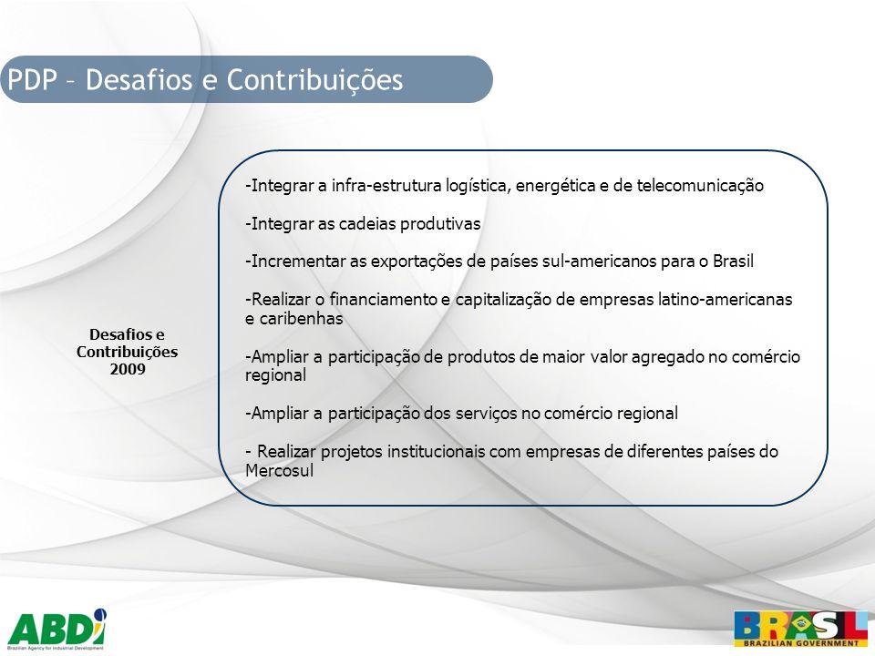 Desafios e Contribuições 2009