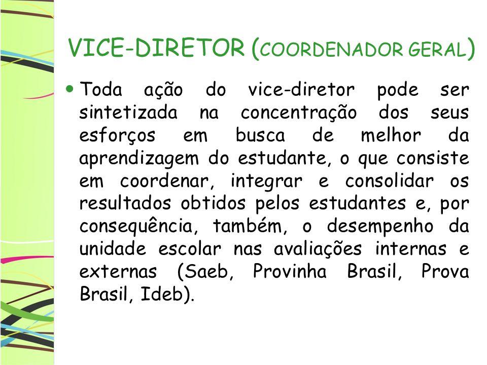 VICE-DIRETOR (COORDENADOR GERAL)