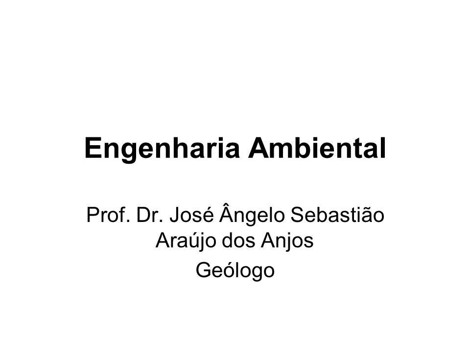 Prof. Dr. José Ângelo Sebastião Araújo dos Anjos Geólogo