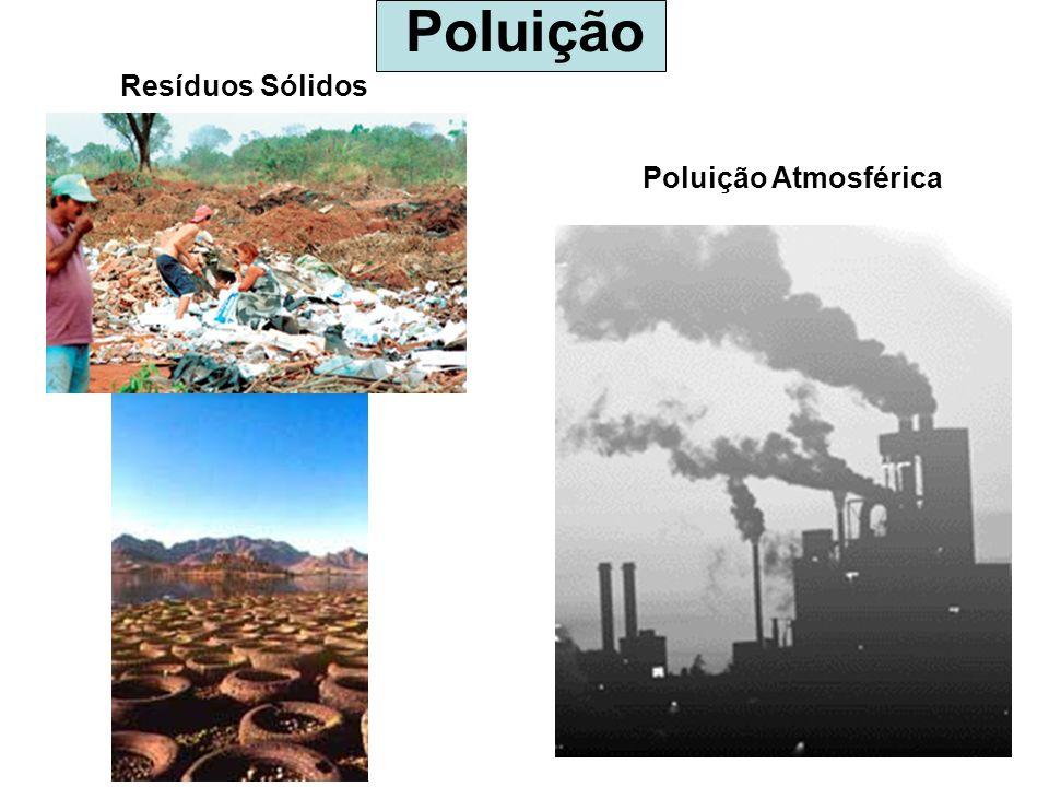 Poluição Resíduos Sólidos Poluição Atmosférica