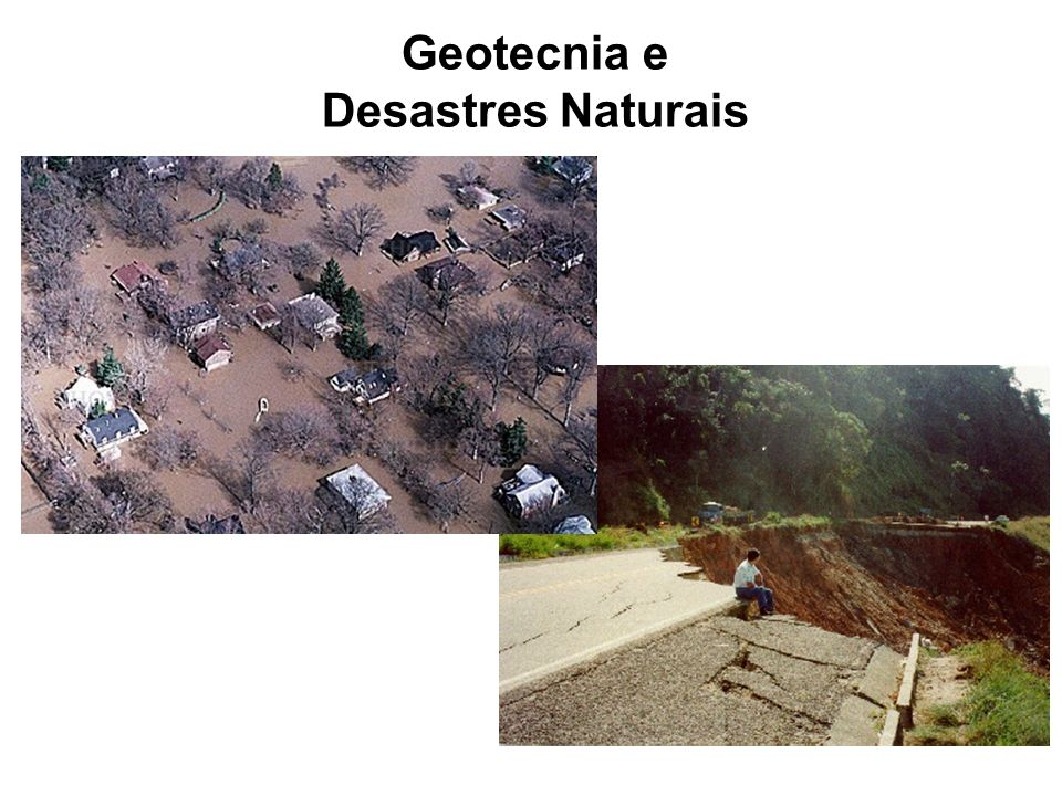 Geotecnia e Desastres Naturais