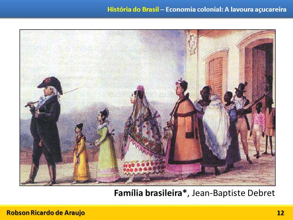 Família brasileira*, Jean-Baptiste Debret