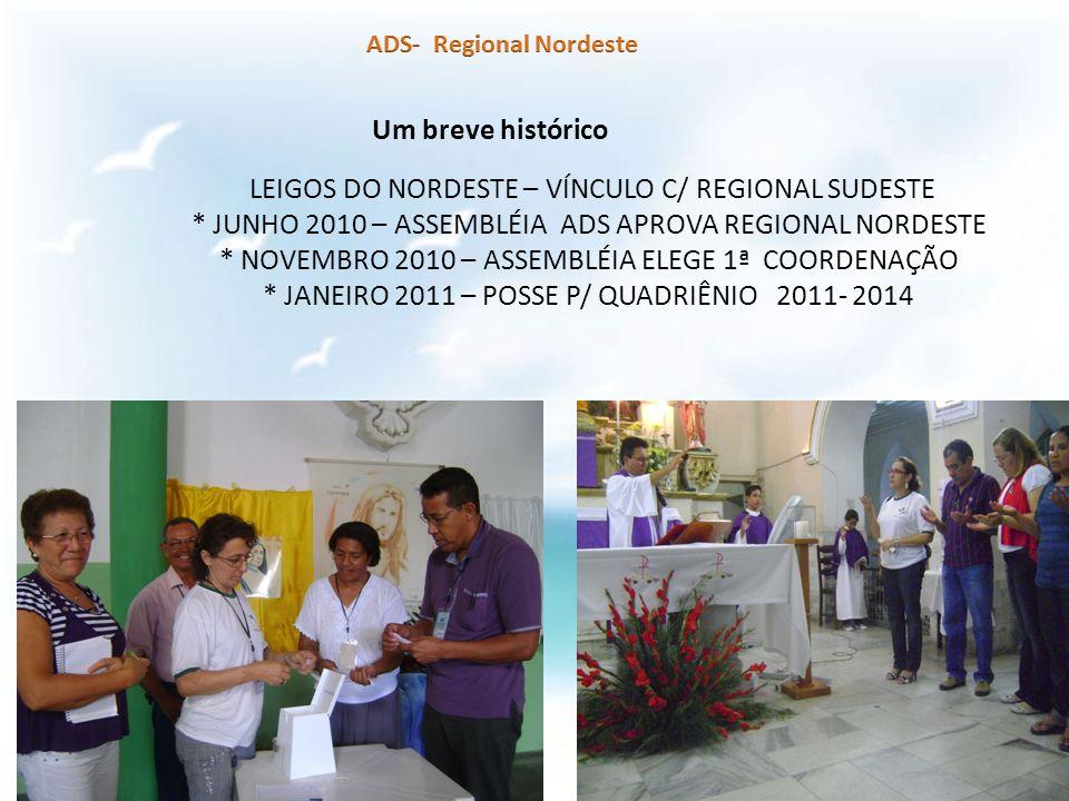 LEIGOS DO NORDESTE – VÍNCULO C/ REGIONAL SUDESTE