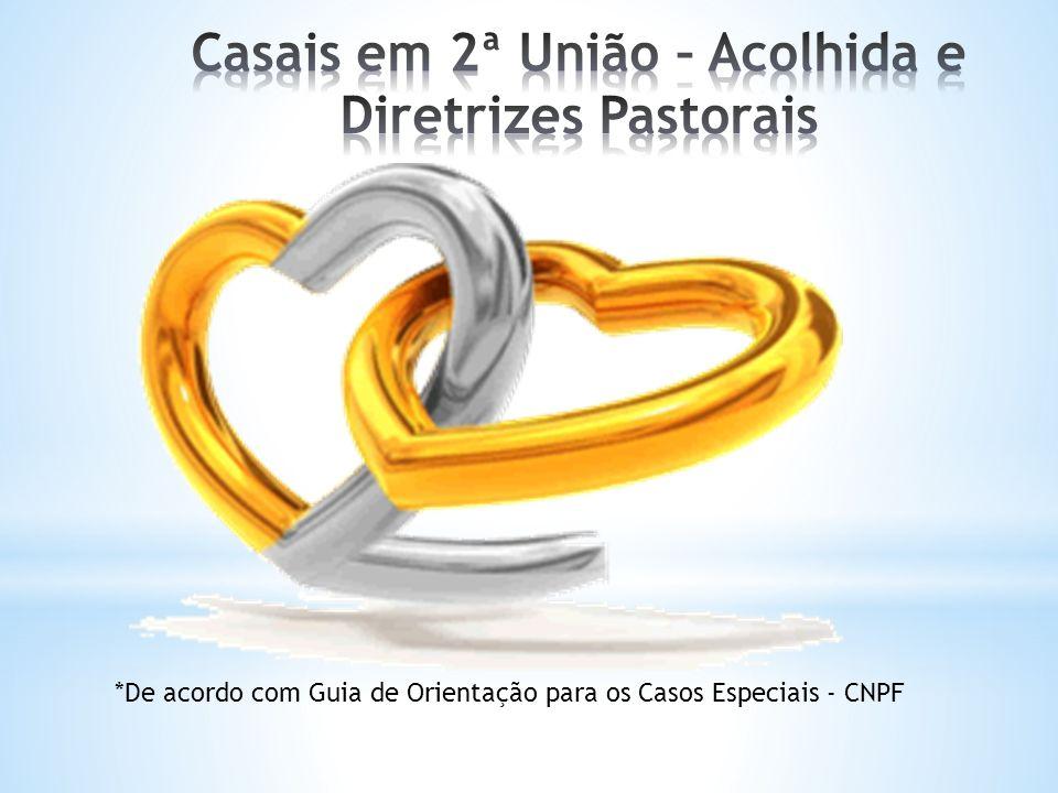 Casais em 2ª União – Acolhida e Diretrizes Pastorais
