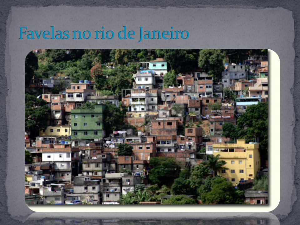 Favelas no rio de Janeiro