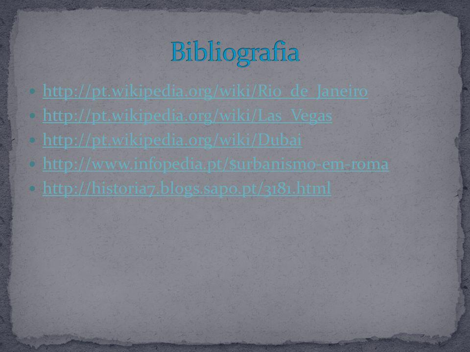 Bibliografia http://pt.wikipedia.org/wiki/Rio_de_Janeiro