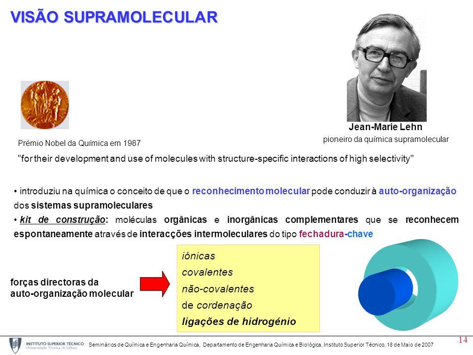 pioneiro da química supramolecular