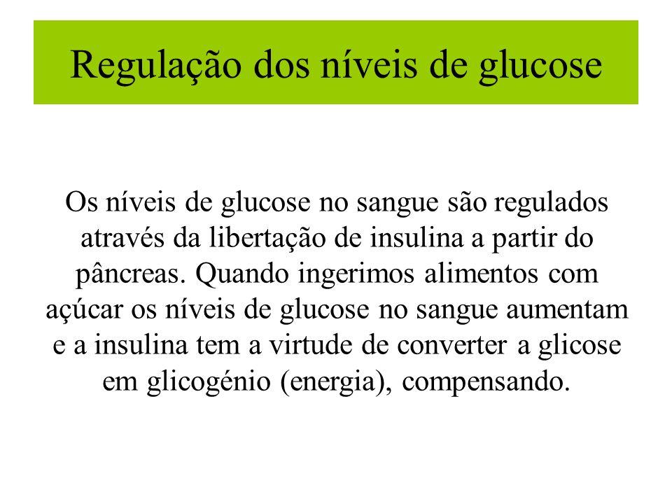 Regulação dos níveis de glucose