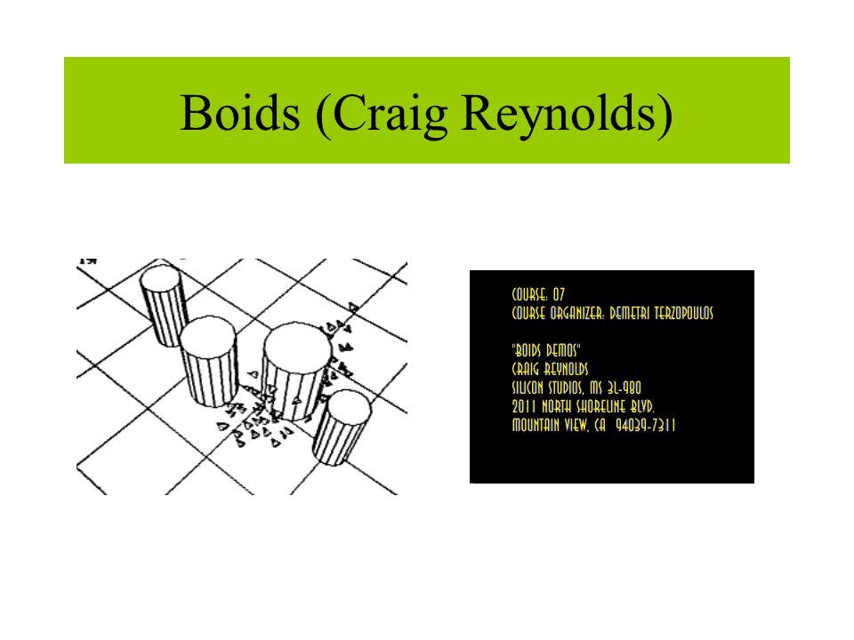 Boids (Craig Reynolds)