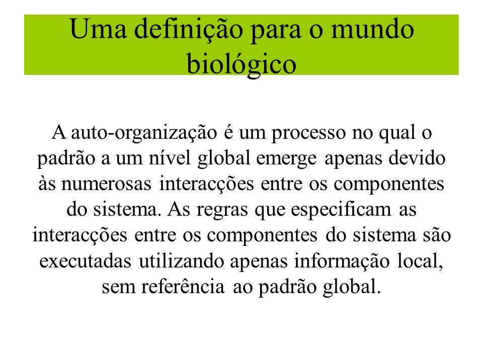 Uma definição para o mundo biológico