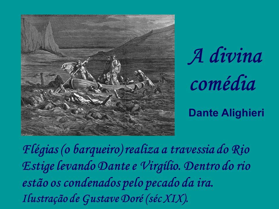 A divina comédia Dante Alighieri.