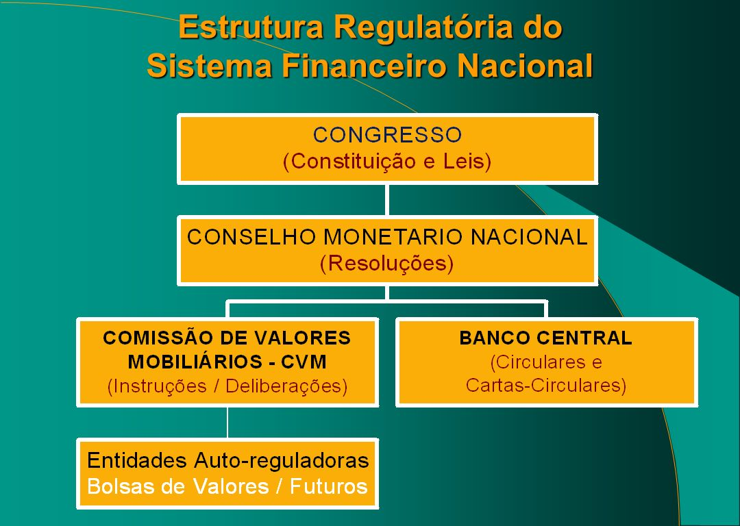 Estrutura Regulatória do Sistema Financeiro Nacional