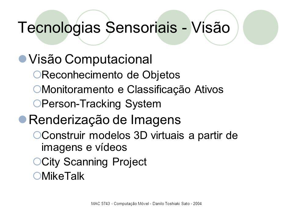 Tecnologias Sensoriais - Visão