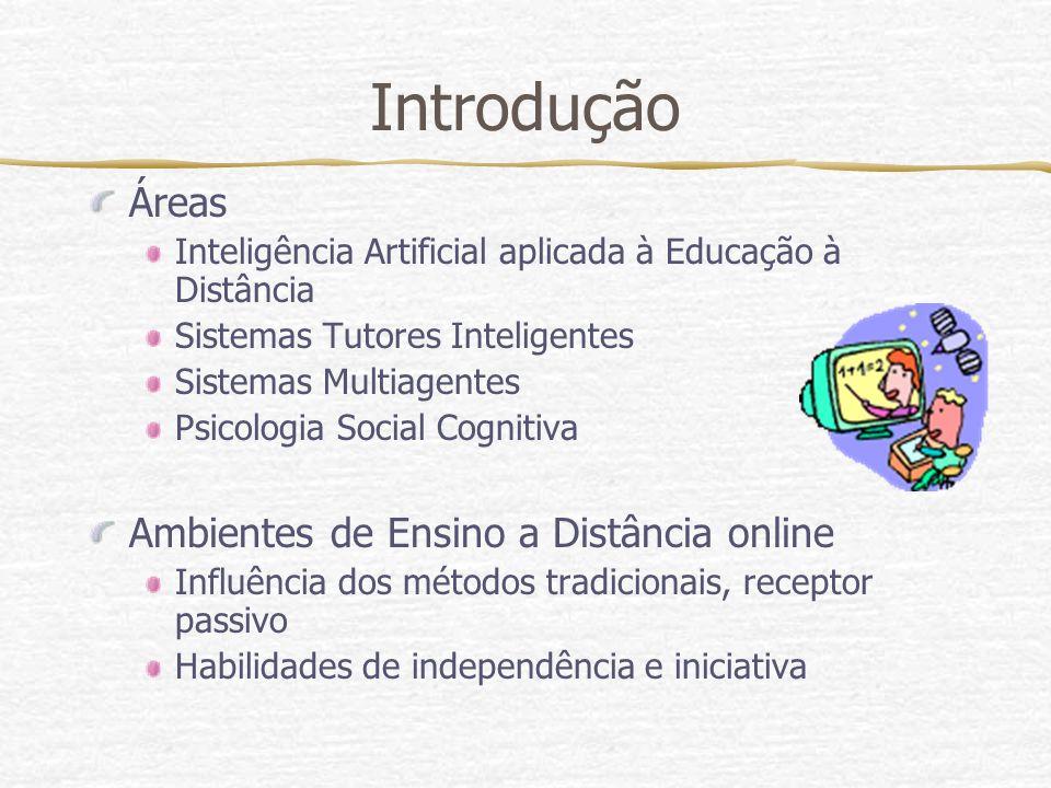 Introdução Áreas Ambientes de Ensino a Distância online