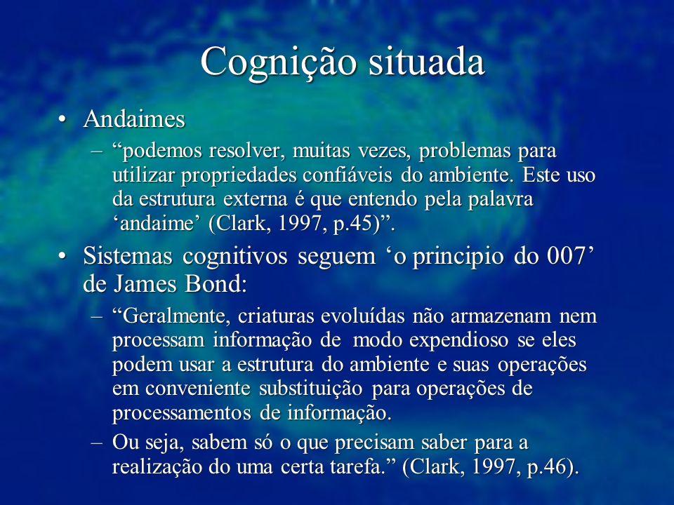 Cognição situada Andaimes