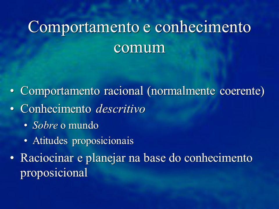 Comportamento e conhecimento comum