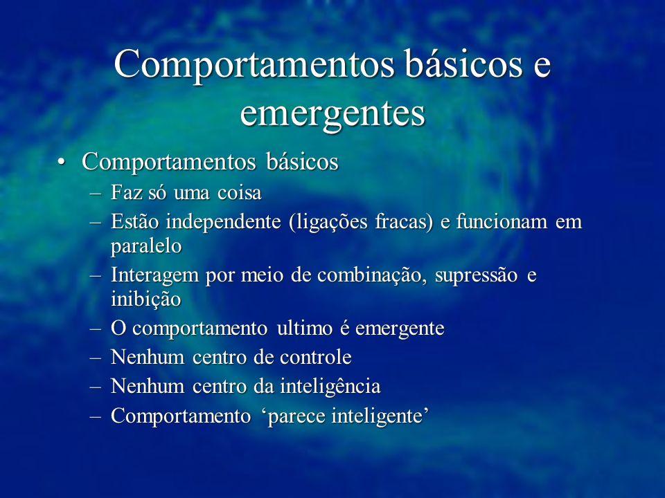 Comportamentos básicos e emergentes
