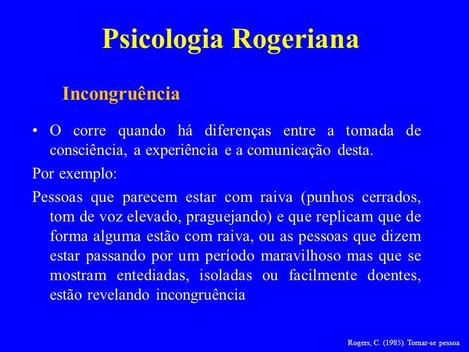 Rogers, C. (1985). Tornar-se pessoa