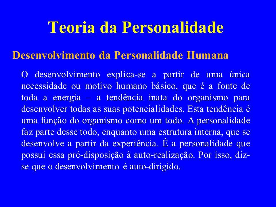 Teoria da Personalidade