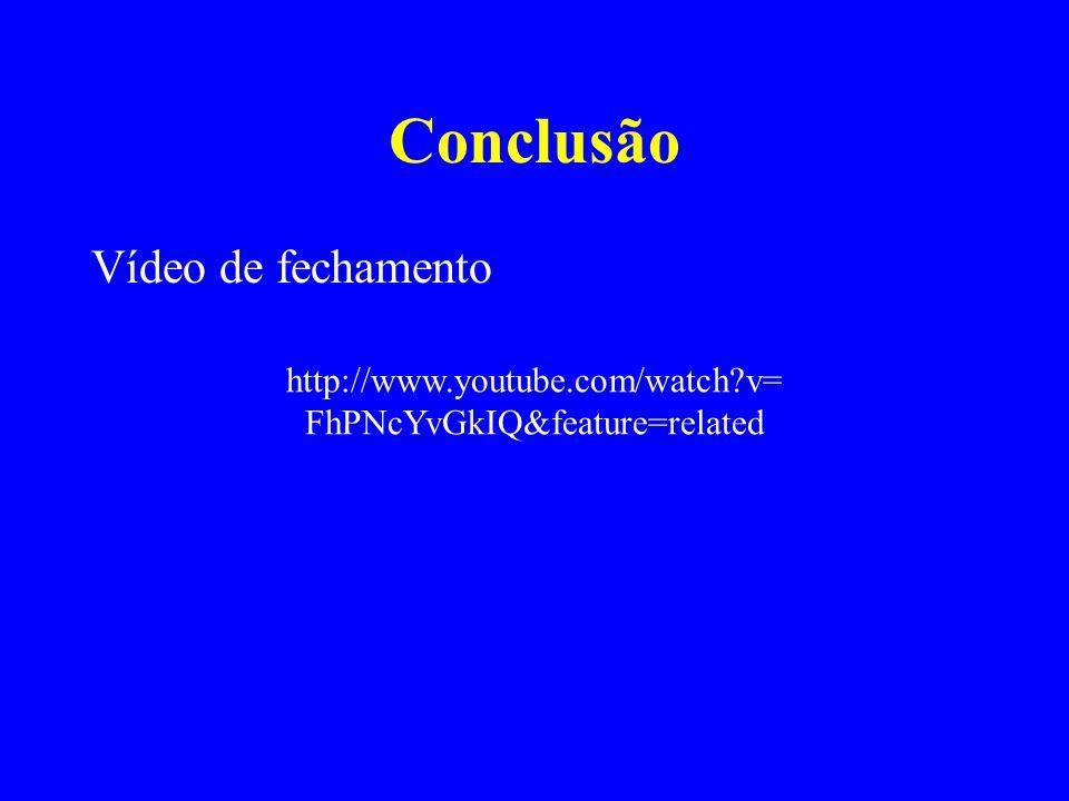 Conclusão Vídeo de fechamento