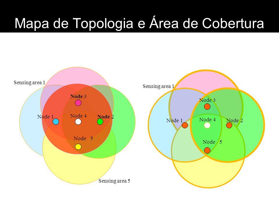 Mapa de Topologia e Área de Cobertura