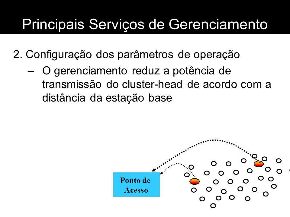 Principais Serviços de Gerenciamento