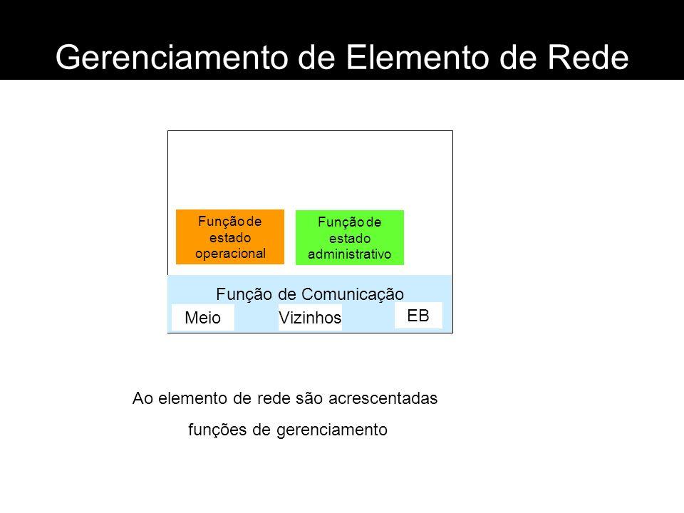 Gerenciamento de Elemento de Rede