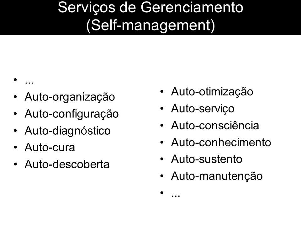 Serviços de Gerenciamento (Self-management)