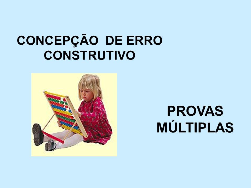 CONCEPÇÃO DE ERRO CONSTRUTIVO