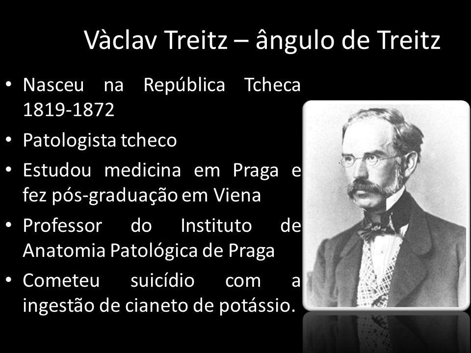 Vàclav Treitz – ângulo de Treitz