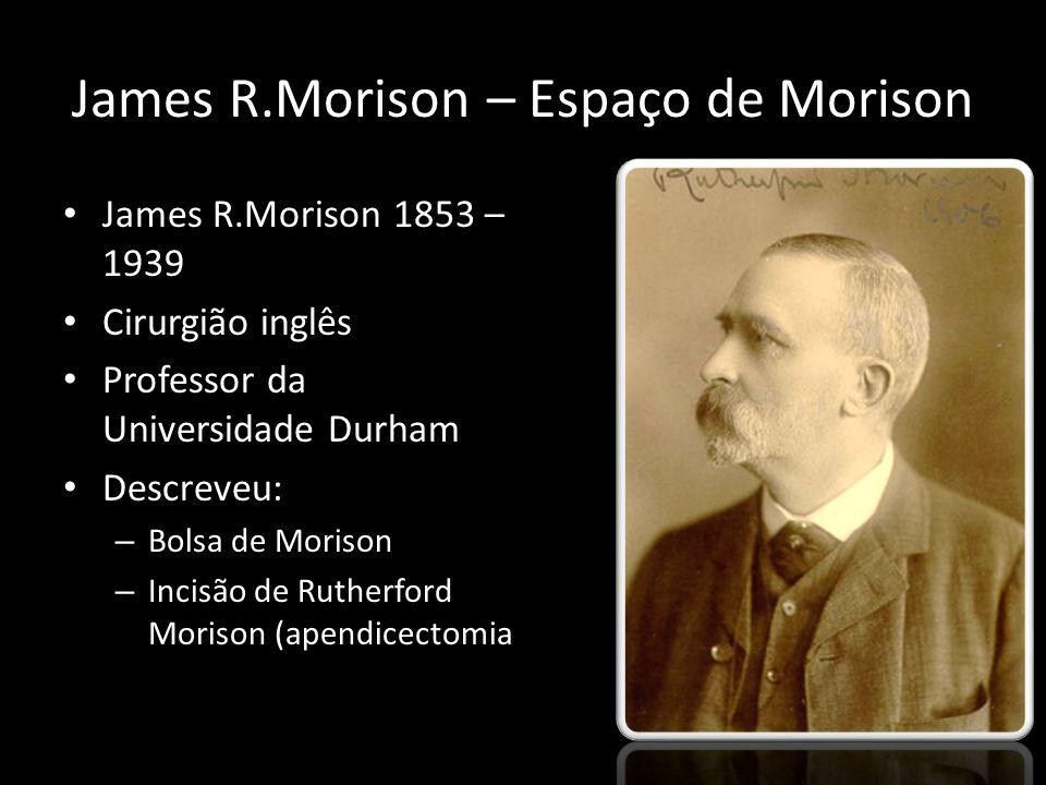 James R.Morison – Espaço de Morison
