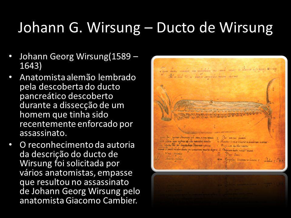 Johann G. Wirsung – Ducto de Wirsung
