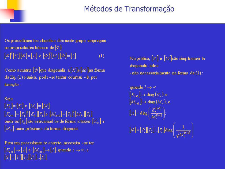 Métodos de Transformação