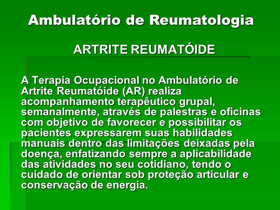 Ambulatório de Reumatologia
