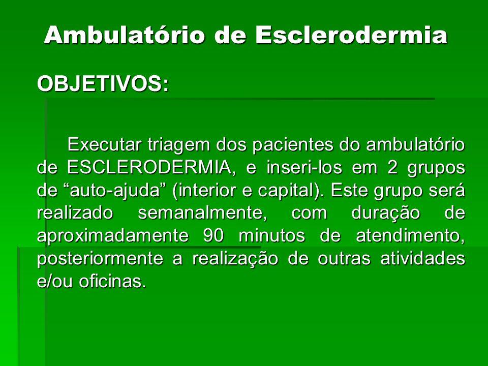 Ambulatório de Esclerodermia