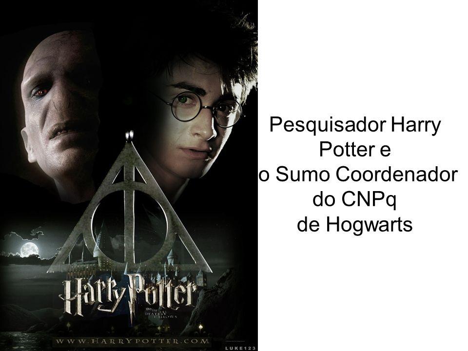 Pesquisador Harry Potter e o Sumo Coordenador do CNPq de Hogwarts