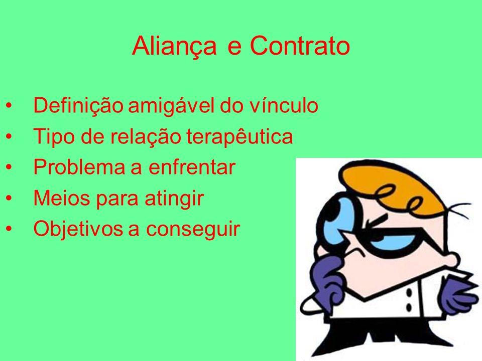 Aliança e Contrato Definição amigável do vínculo