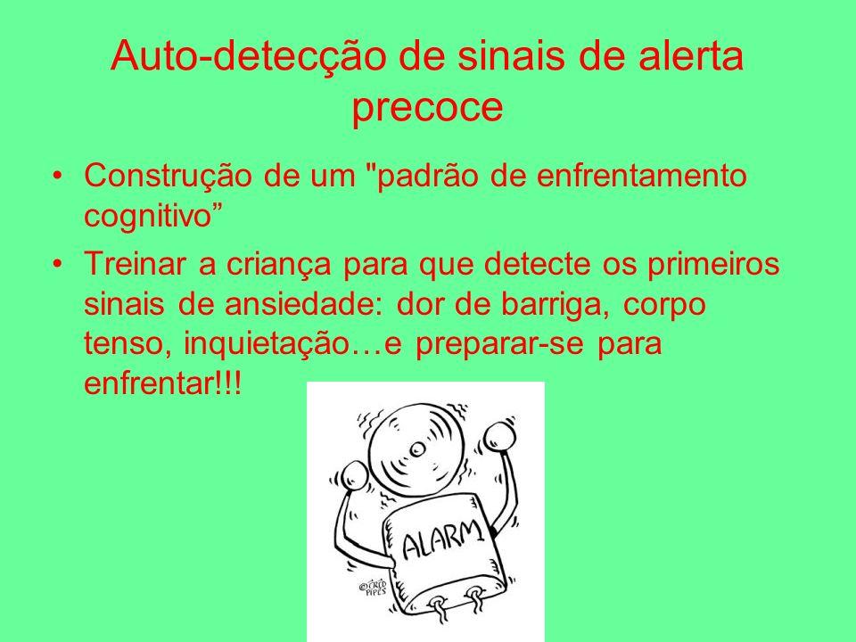Auto-detecção de sinais de alerta precoce