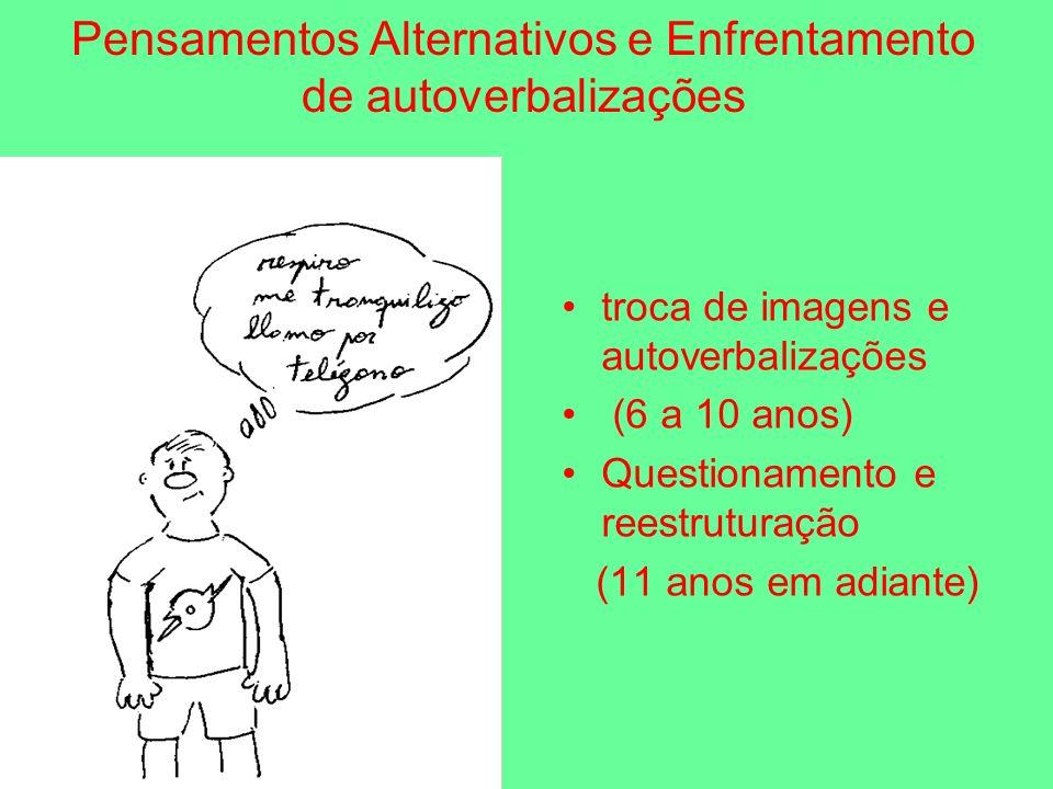 Pensamentos Alternativos e Enfrentamento de autoverbalizações