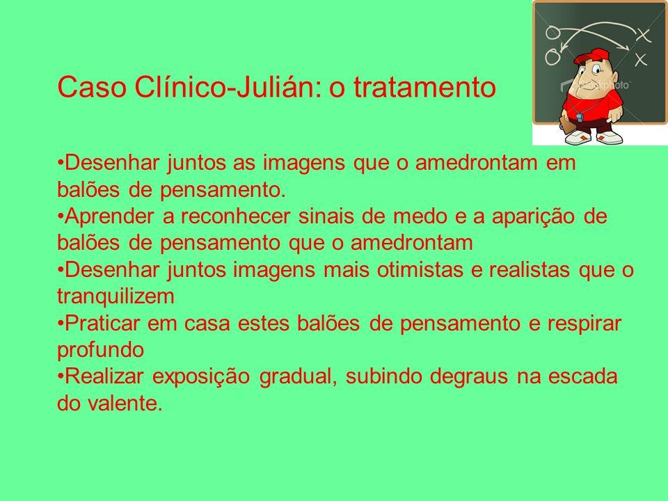 Caso Clínico-Julián: o tratamento