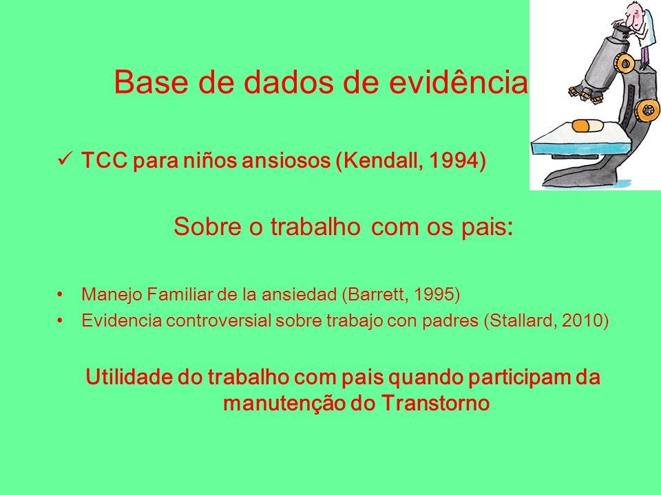 Base de dados de evidência