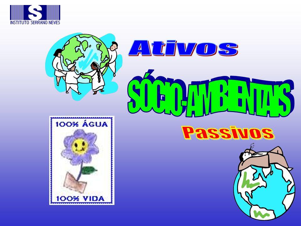 Ativos SÓCIO-AMBIENTAIS Passivos