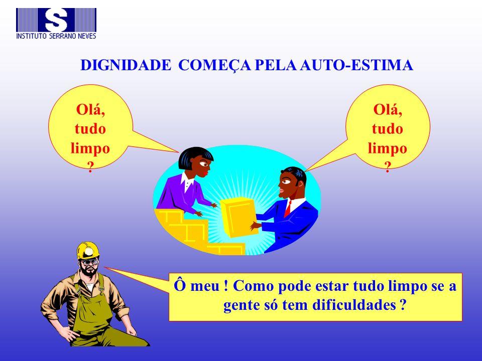 DIGNIDADE COMEÇA PELA AUTO-ESTIMA