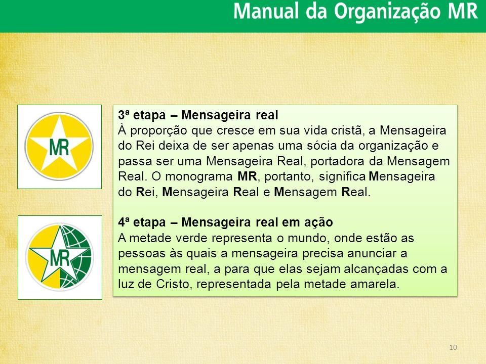 3ª etapa – Mensageira real