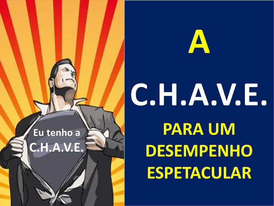 A C.H.A.V.E. PARA UM DESEMPENHO ESPETACULAR