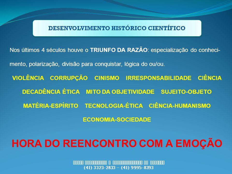 HORA DO REENCONTRO COM A EMOÇÃO
