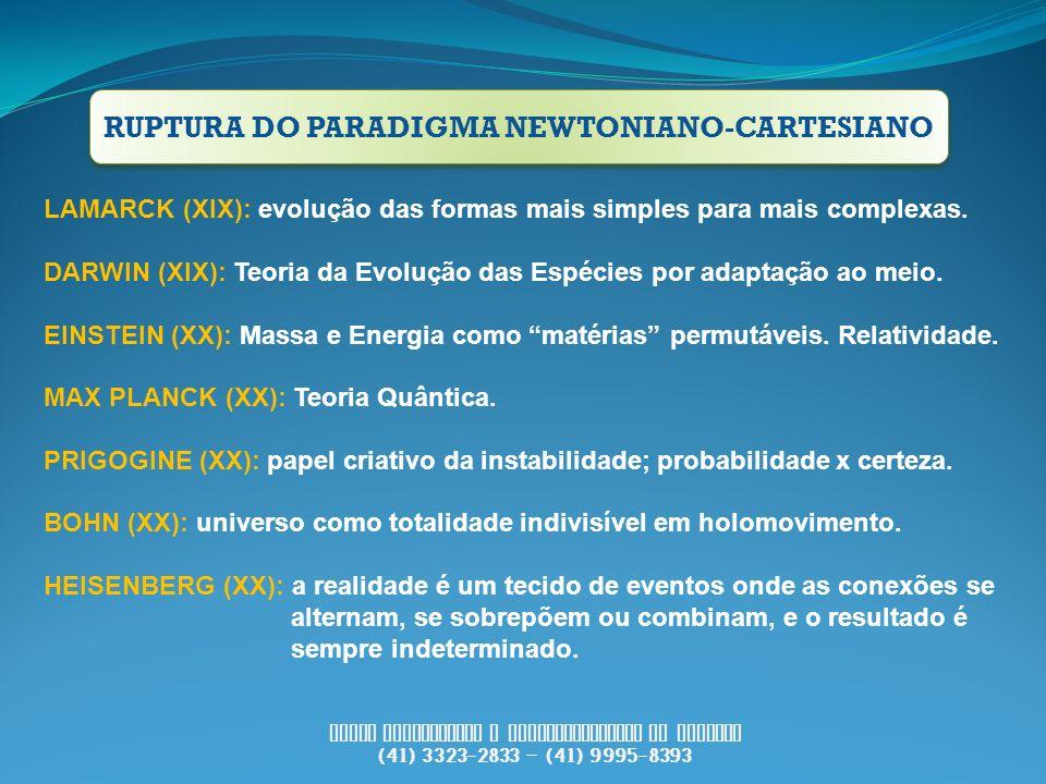 RUPTURA DO PARADIGMA NEWTONIANO-CARTESIANO