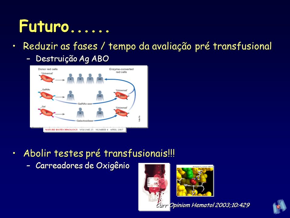 Curr Opiniom Hematol 2003;10:429