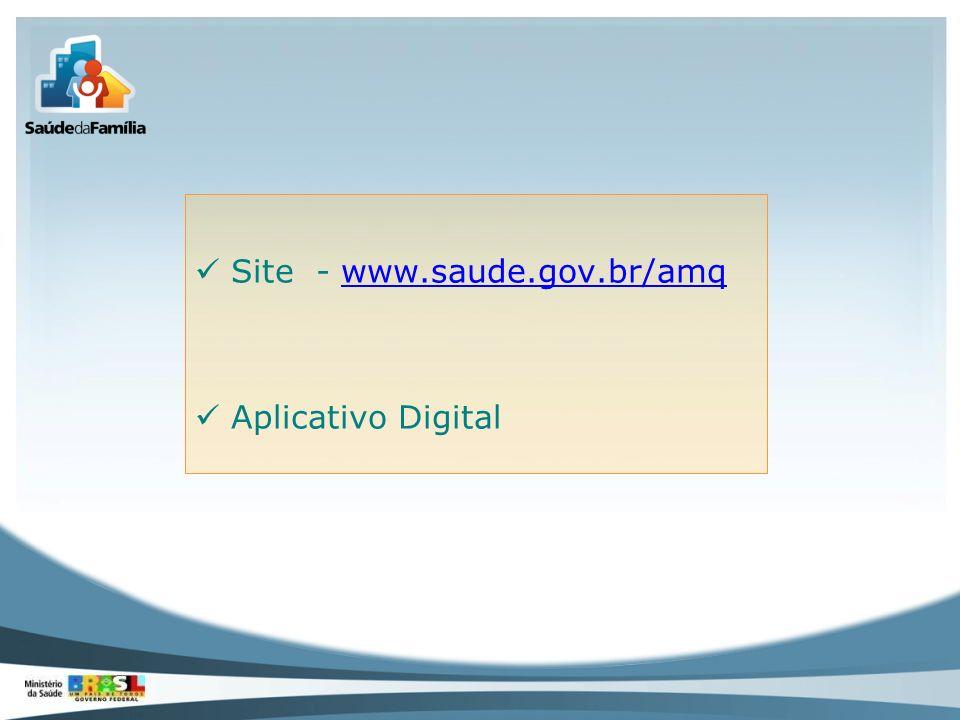 Site - www.saude.gov.br/amq